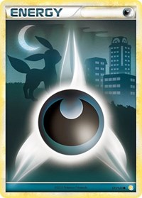 Darkness Energy (Basic), Pokemon, HeartGold SoulSilver