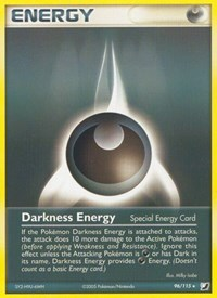 Darkness Energy (Special), Pokemon, Unseen Forces