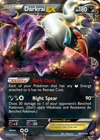 Darkrai EX, Pokemon, Legendary Treasures