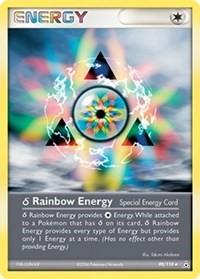 Delta Species Rainbow Energy, Pokemon, Holon Phantoms