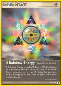 Delta Species Rainbow Energy, Pokemon, Dragon Frontiers