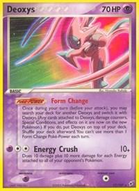 Deoxys (Attack Forme), Pokemon, Deoxys