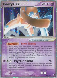 Deoxys ex (Defense Forme), Pokemon, Deoxys