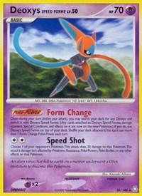 Deoxys Speed Forme, Pokemon, Legends Awakened