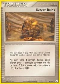 Desert Ruins, Pokemon, Hidden Legends