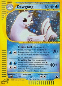 Dewgong (H6), Pokemon, Skyridge