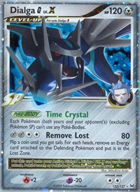 Dialga G Lv.X, Pokemon, Platinum