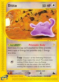Ditto, Pokemon, Skyridge