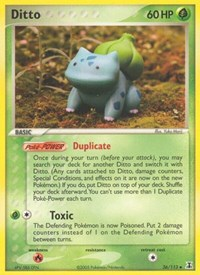 Ditto (Bulbasaur), Pokemon, Delta Species