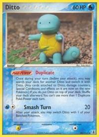 Ditto (40 - Squirtle), Pokemon, Delta Species