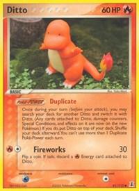 Ditto (61 - Charmander), Pokemon, Delta Species