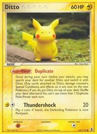 Ditto (63 - Pikachu), Pokemon, Delta Species