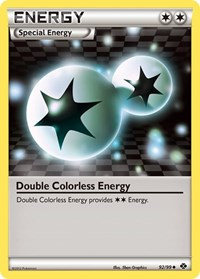 Double Colorless Energy, Pokemon, Next Destinies