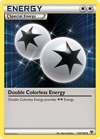 Double Colorless Energy, Pokemon, XY Base Set