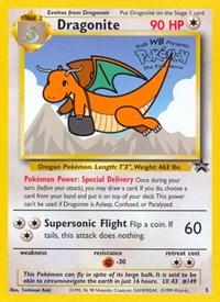 Dragonite, Pokemon, WoTC Promo