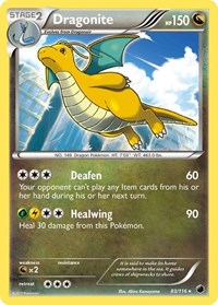 Dragonite, Pokemon, Plasma Freeze