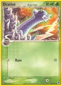 Dratini (Delta Species), Pokemon, Dragon Frontiers