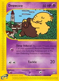 Drowzee (74a), Pokemon, Aquapolis