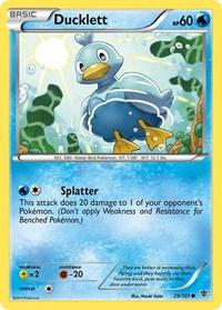Ducklett, Pokemon, Plasma Blast