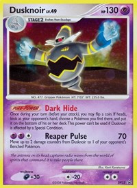 Dusknoir, Pokemon, Diamond and Pearl Promos