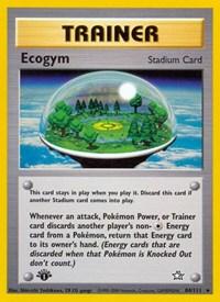 Ecogym, Pokemon, Neo Genesis