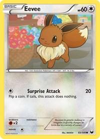 Eevee (83), Pokemon, Dark Explorers