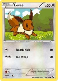 Eevee (84), Pokemon, Dark Explorers