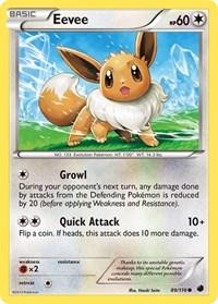 Eevee (89), Pokemon, Plasma Freeze