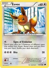 Eevee (90), Pokemon, Plasma Freeze