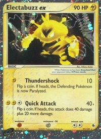 Electabuzz ex, Pokemon, Ruby and Sapphire