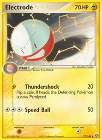 Electrode, Pokemon, Emerald