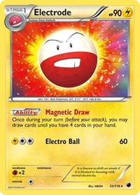 Electrode, Pokemon, Plasma Freeze