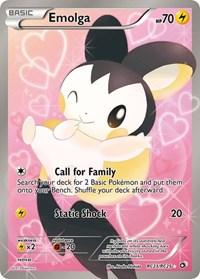Emolga (Full Art), Pokemon, Legendary Treasures: Radiant Collection