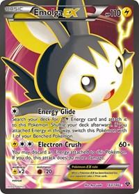 Emolga EX (143 Full Art), Pokemon, XY Base Set