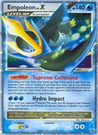 Empoleon Lv.X, Pokemon, Diamond and Pearl Promos