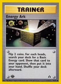 Energy Ark, Pokemon, Neo Discovery