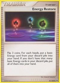 Energy Restore, Pokemon, Majestic Dawn