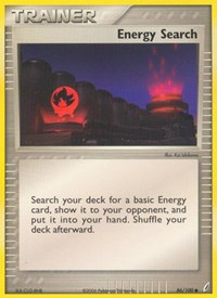 Energy Search, Pokemon, Crystal Guardians
