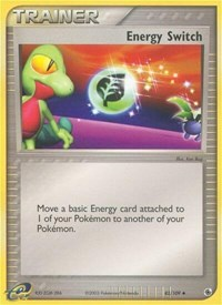 Energy Switch, Pokemon, Ruby and Sapphire