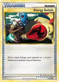 Energy Switch, Pokemon, HeartGold SoulSilver