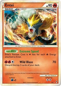 Entei (Shiny), Pokemon, Call of Legends