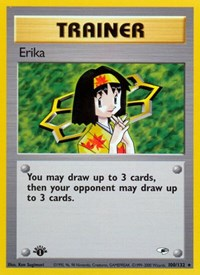 Erika (100), Pokemon, Gym Heroes