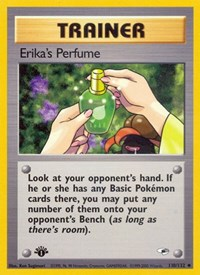 Erika's Perfume, Pokemon, Gym Heroes