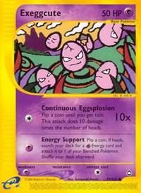 Exeggcute (77), Pokemon, Aquapolis