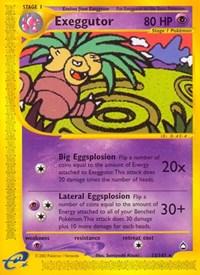 Exeggutor (13), Pokemon, Aquapolis
