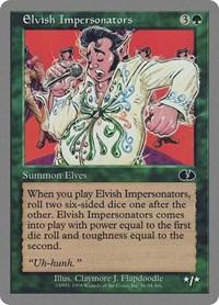 Elvish Impersonators, Magic: The Gathering, Unglued