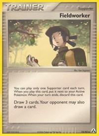 Fieldworker, Pokemon, Legend Maker