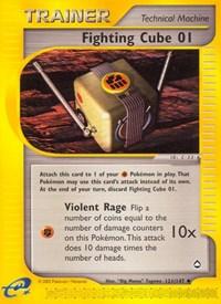 Fighting Cube 01, Pokemon, Aquapolis