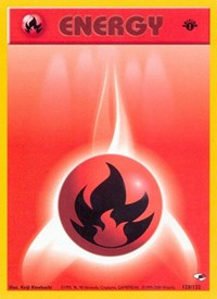 Fire Energy, Pokemon, Gym Heroes