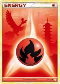 Fire Energy, Pokemon, HeartGold SoulSilver